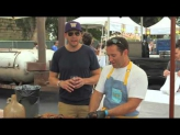 Joel McHale and Chef Adam Perry Lang Support Alex's Lemonade Stand Foundation