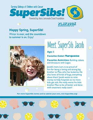 SuperSibs Comfort & Care Mailer
