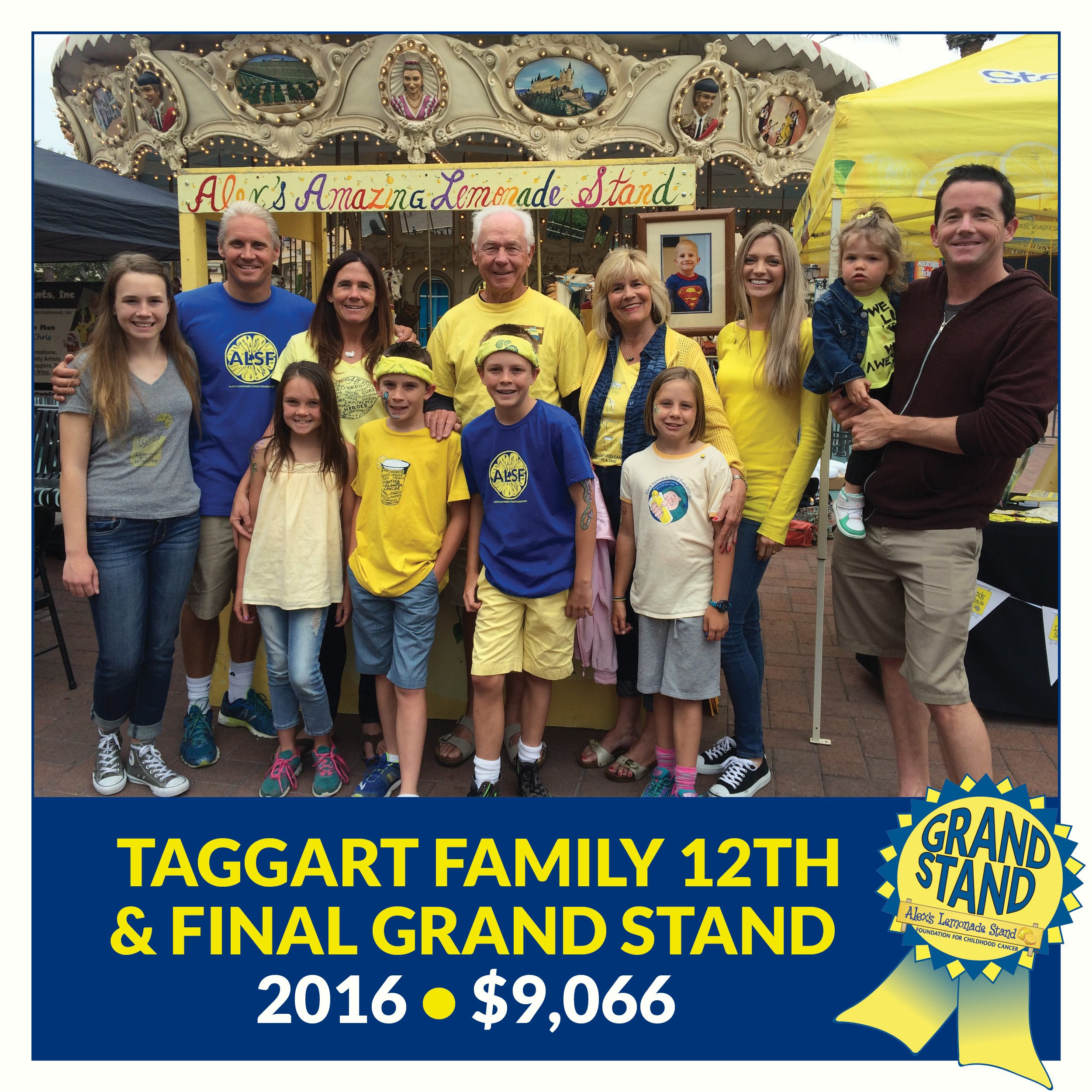 Taggart Grand Stand 2016